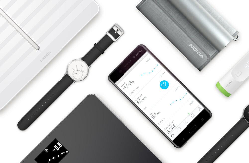 Nokia uued tooted: äpiga suhtlevad kaal ja vererõhumõõtja