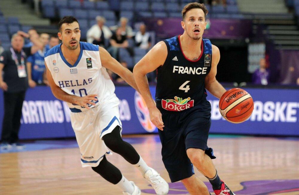 Prantsusmaa korvpallikoondis sai valusa tagasilöögi