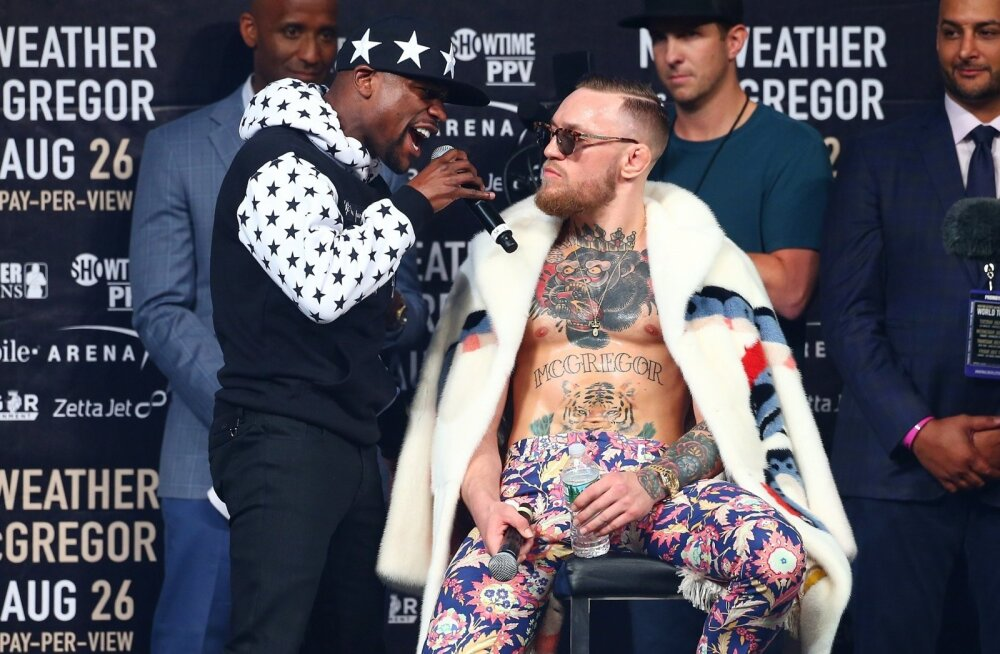 BOX-SPO-FLOYD-MAYWEATHER-JR.-V-CONOR-MCGREGOR-WORLD-PRESS-TOUR--