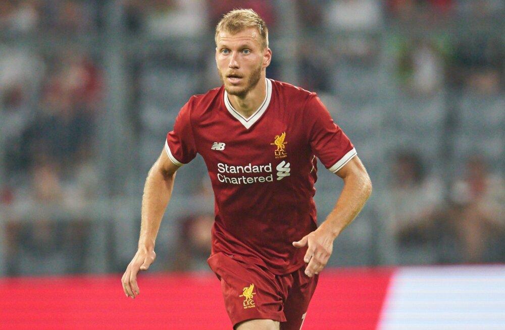 Ragnar Klavan kuulub Liverpooli Meistrite liiga koosseisu