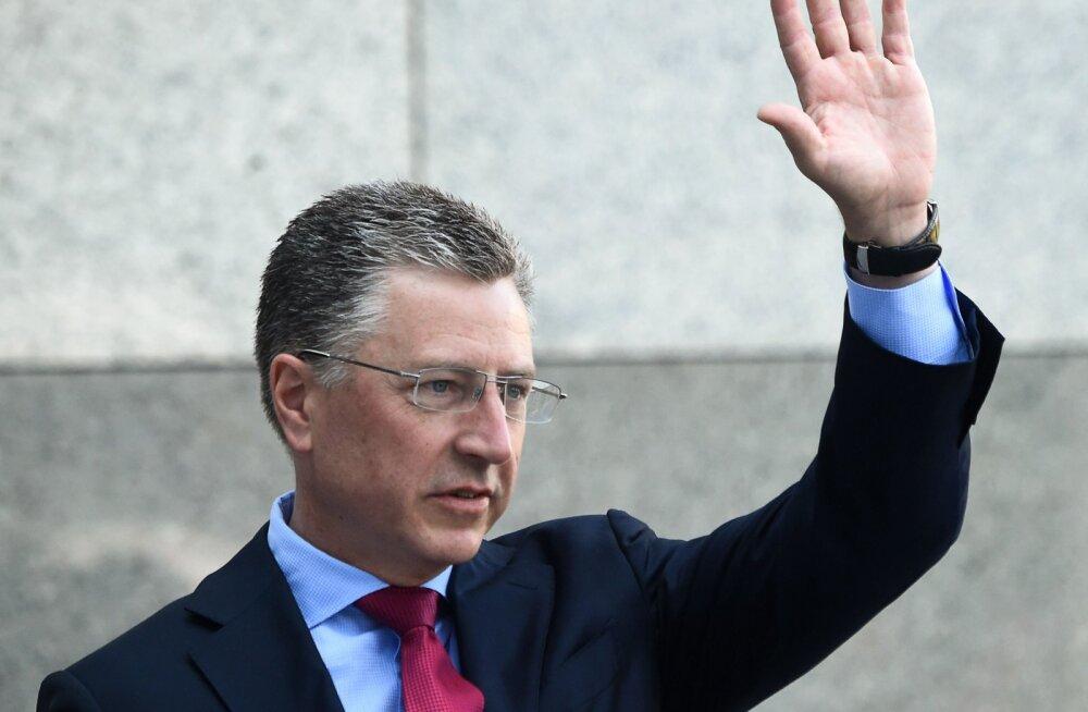 USA eriesindaja Ukrainas lahkus Trumpi-skandaali tõttu ametist
