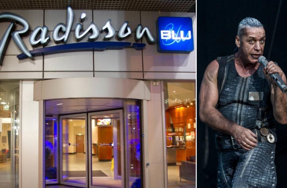 Kas Radissoni hotellikett üritab Rammsteini kontserdi ajaks mõningatest klientidest lahti saada?