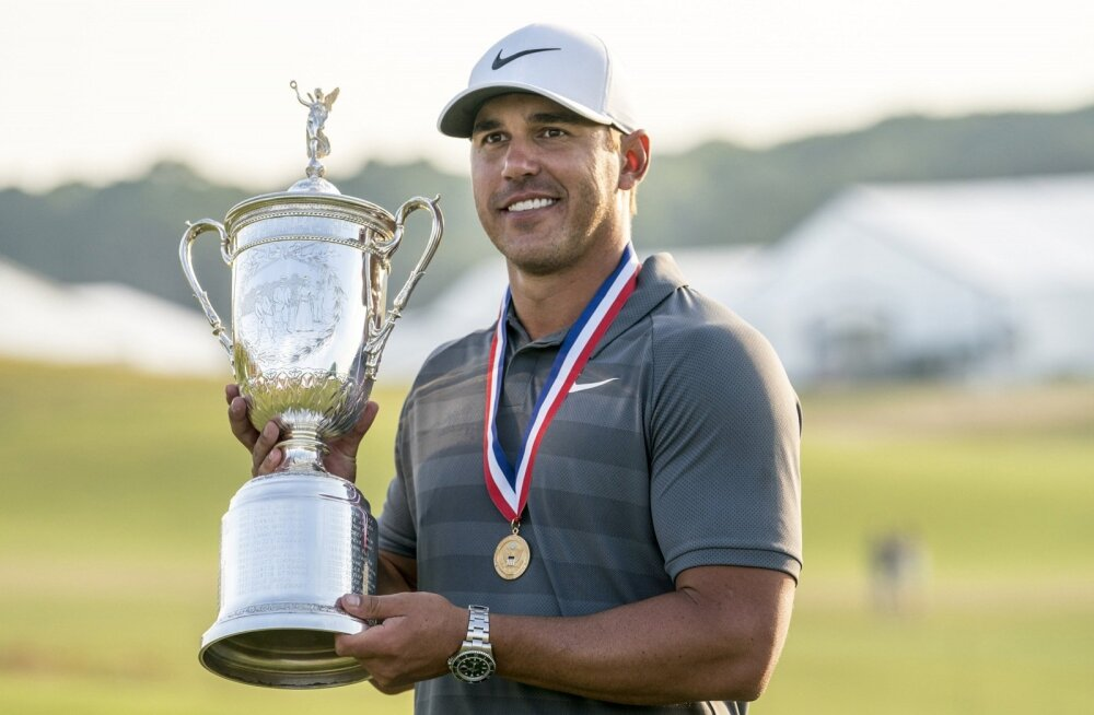 Kahekordne golfi US Openi tšempion Brooks Koepka
