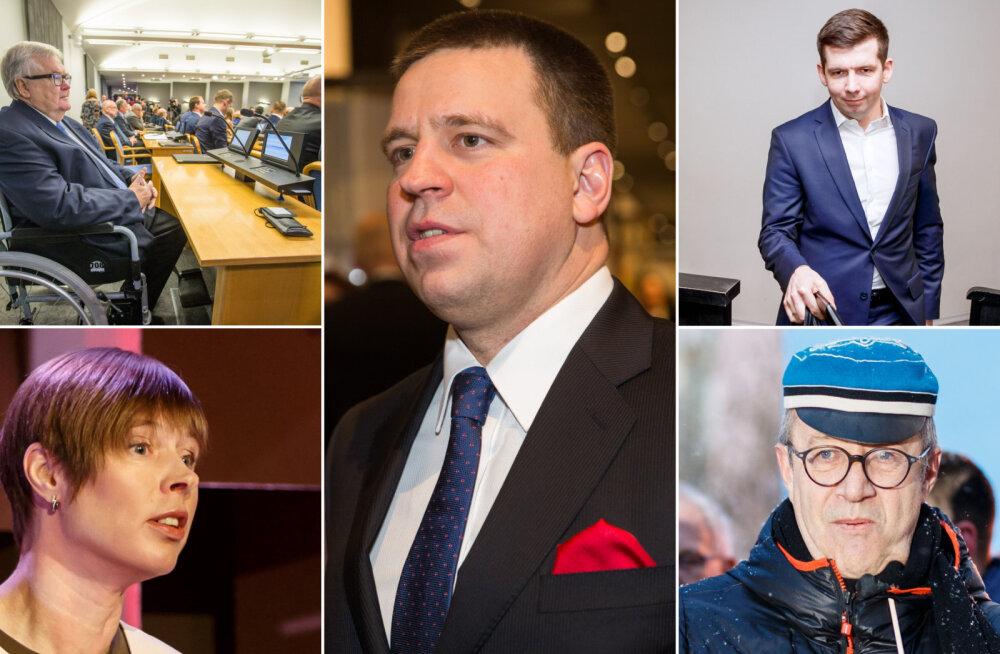 Kes on Oligarhi Pojake? Keda tuntakse Pingviinina? Venekeelse rahva hüüdnimed Eesti poliitikuile