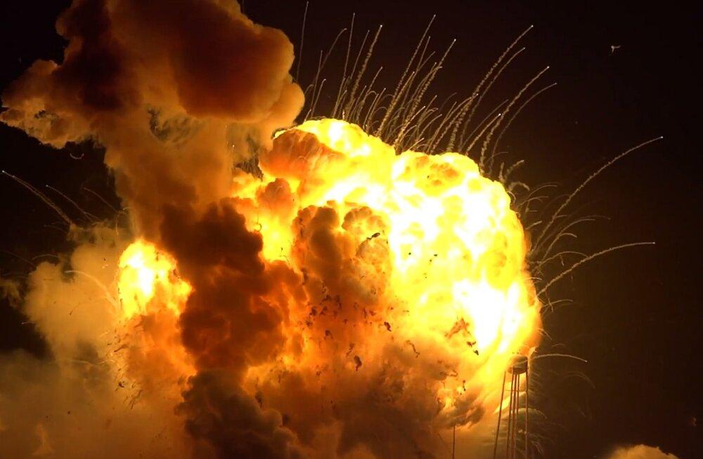 В НАСА установили, что ракета Antares взорвалась из-за советских двигателей