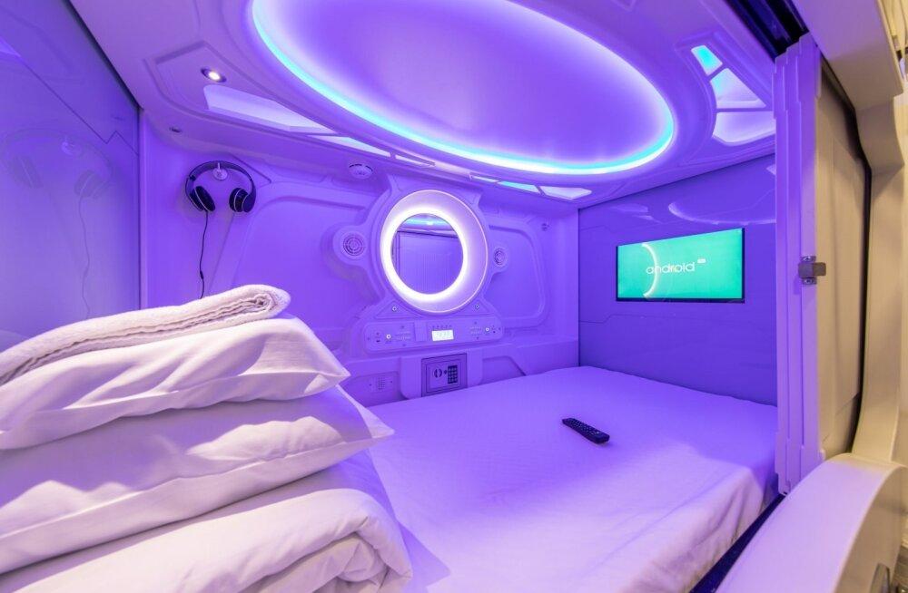 ФОТО: Сколько стоит ночь в новом капсульном отеле Таллинна?