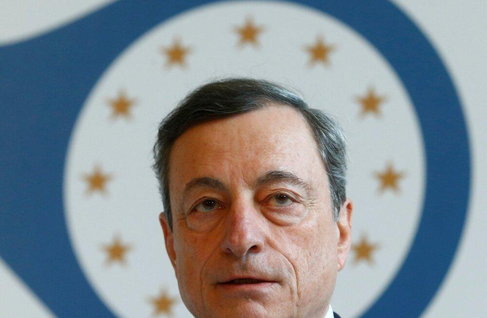 Mario Draghi sõnul on Euroopa Keskpank valmis euro alleshoidmiseks tegema oma mandaadi piires mida iganes.