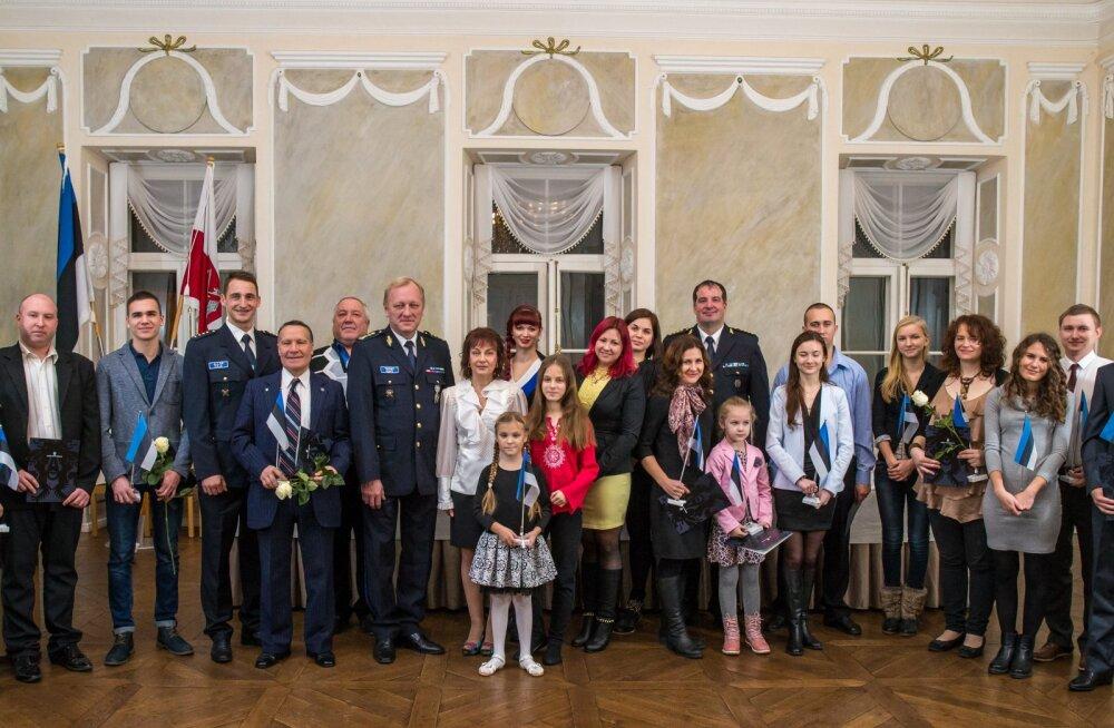 В Тарту свидетельства о гражданстве получили еще 20 человек