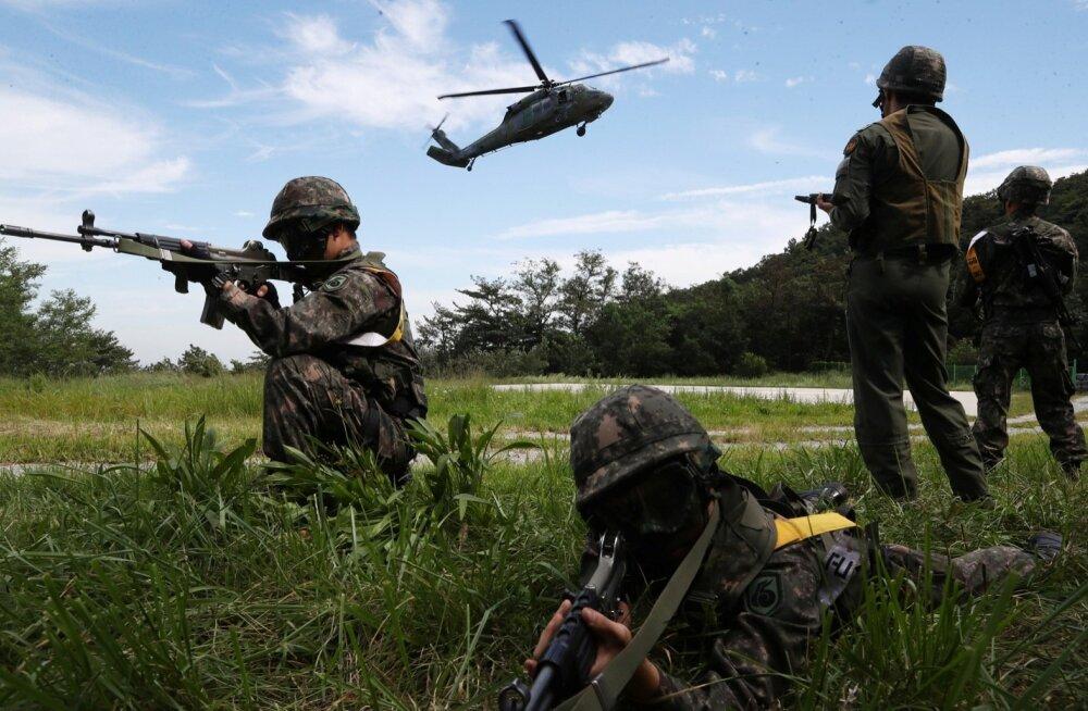 Lõuna-Korea ja USA lõpetavad suured ühised sõjaväeõppused