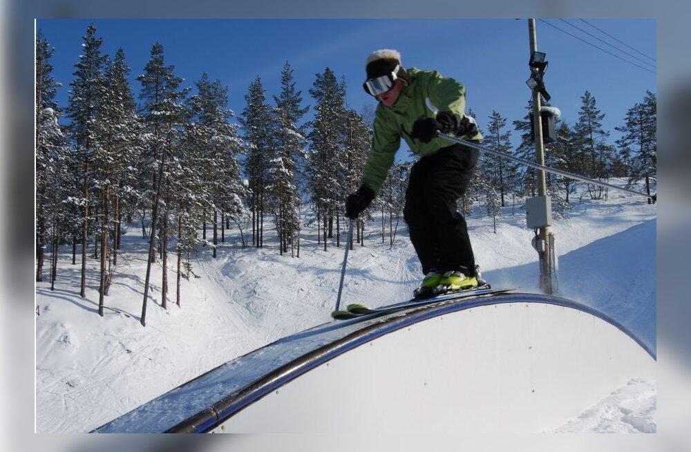 Eestlased eelistavad endiselt Soome mäesuusakeskuseid, USA kogub populaarsust