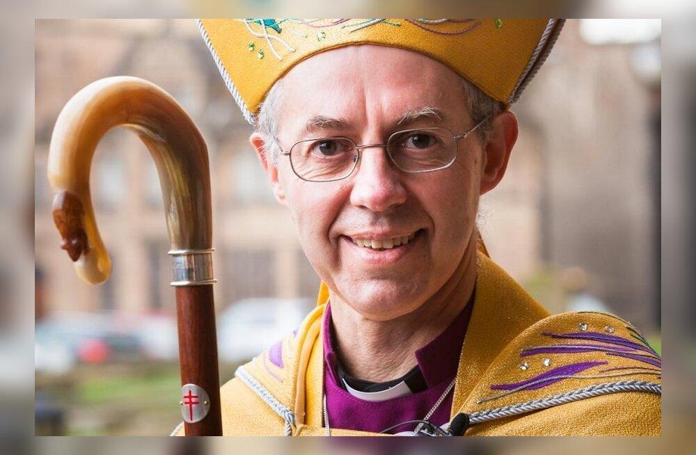Põder osaleb Canterbury peapiiskopi ametissepühitsemisel