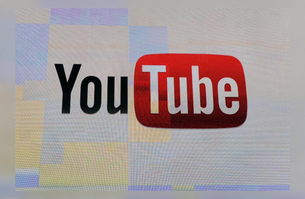 Eesti meeste ja noorte lemmikbränd on YouTube