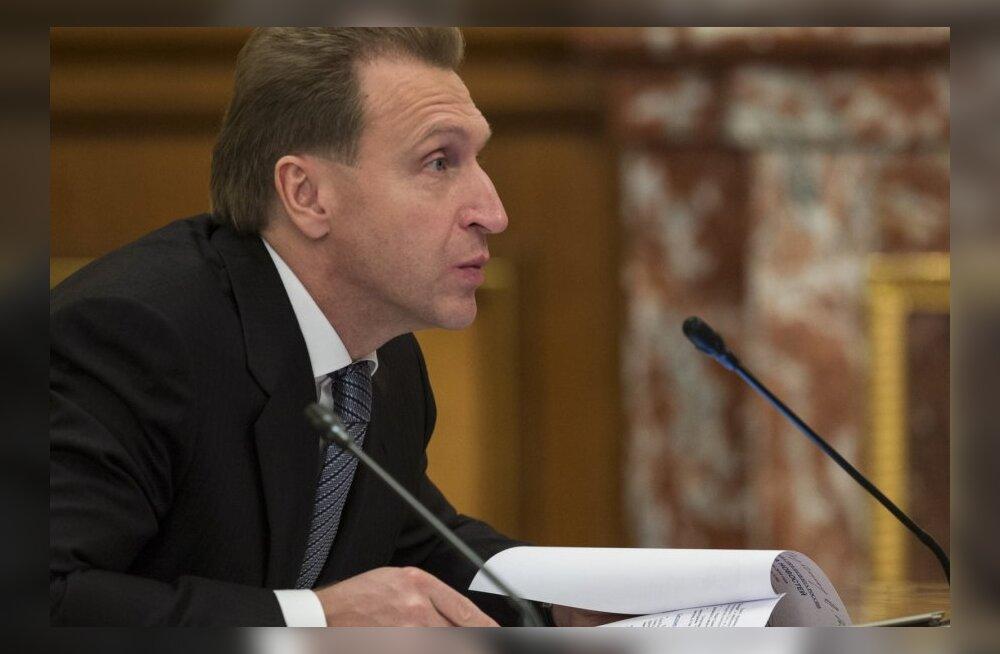 Venemaa esimene asepeaminister Igor Šuvalov