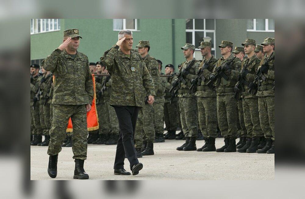 Kosovo parlament toetas Serbia ähvardustest hoolimata oma armee loomist