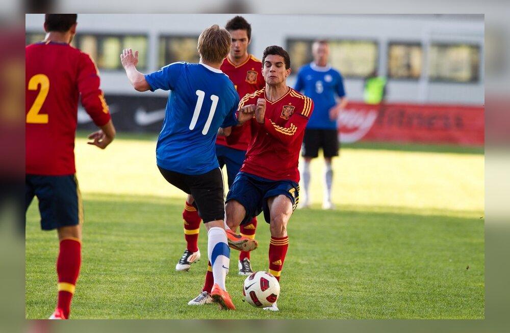 Eesti vs Hispaania U21 jalgpall