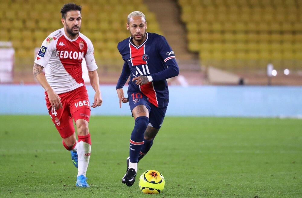 Cesc Fabregas ja Neymar