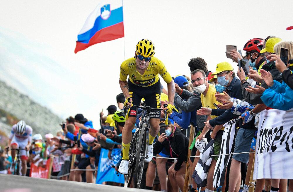 Tour de France'i võit kipub minema Sloveeniasse