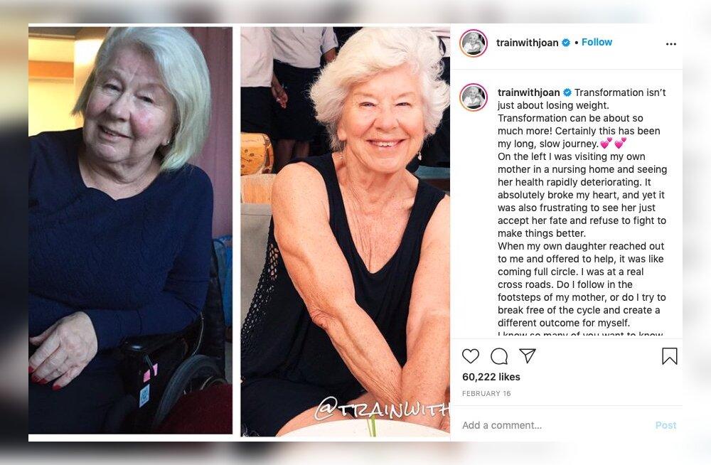 FOTOD | See 74aastane naisterahvas tõestab, et iga inimene võib vaatamata vanusele end supervormi treenida