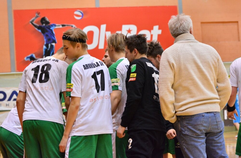 Käsipall Viljandi HC ja Aruküla SK