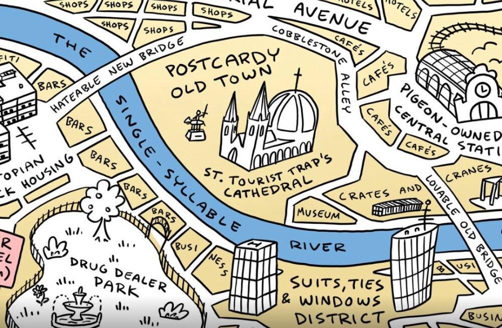 GPS ON MINEVIK | Selle kaardi järgi orienteerud vabalt igas Euroopa linnas!