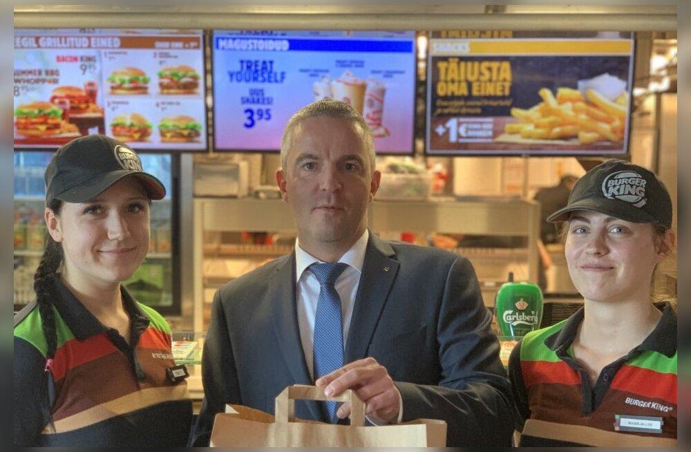 Burger King tuleb Eestisse, esimesed kiirtoidukohad avatakse eeloleval talvel