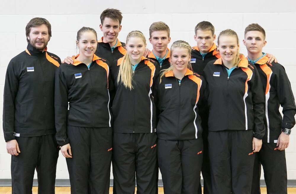 Eesti sai sulgpalli EM-l esimese võidu