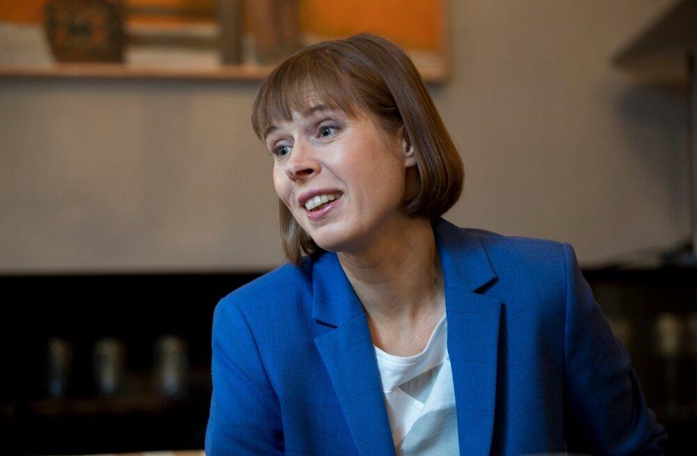President Kersti Kaljulaidi sõnul on uuel valitsusel ELi eesistumisega tarvis minna juba sõitvasse rongi.