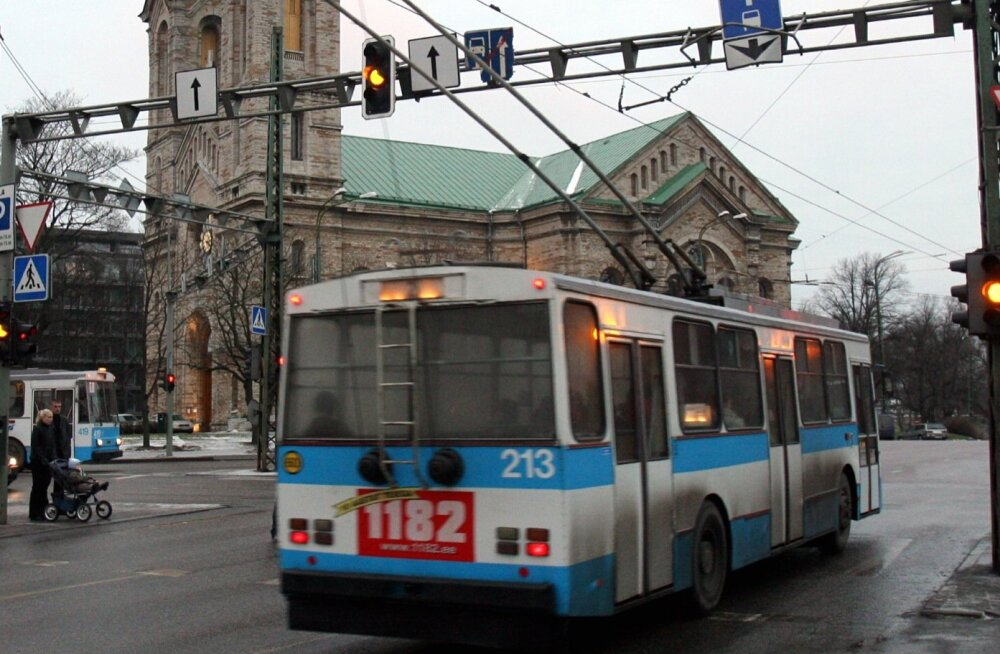 5fef2ce18af Linnatranspordi AS-i juht: ukrainlaste soovitud LAZ trolle Tallinnas ei ole
