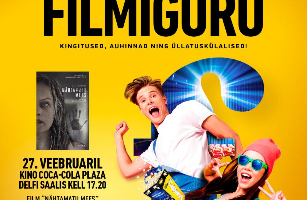 """FILMIGURU esitleb: """"Nähtamatu mees"""" esilinastus juba 27. veebruaril"""