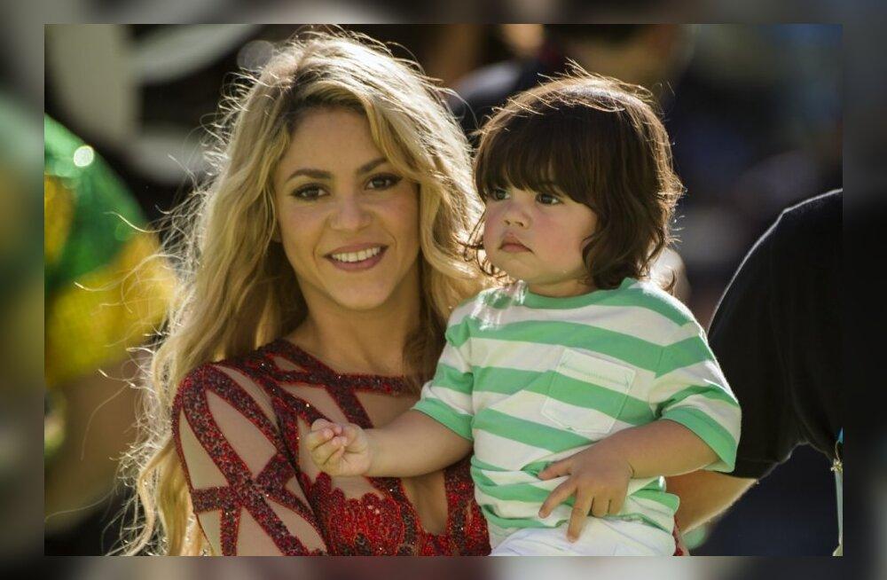 Shakira pojaga