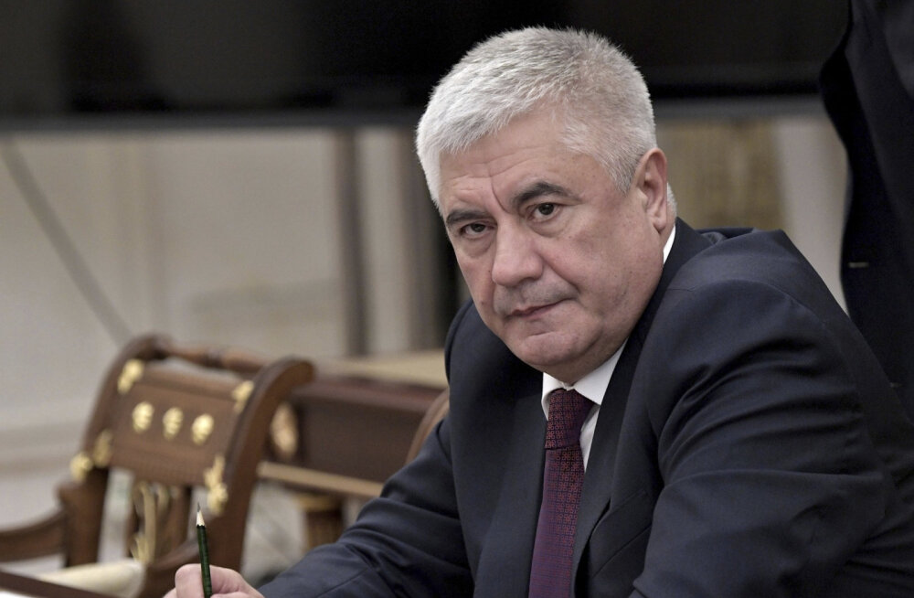 Глава МВД РФ Владимир Колокольцев