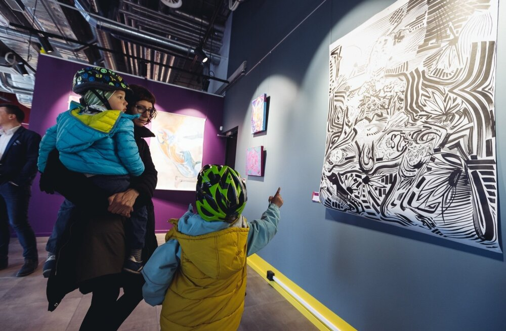 Staapli 3 galerii avamine Noblessneris
