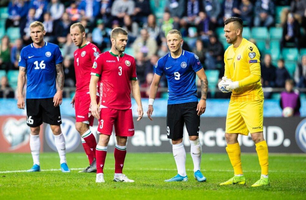 Jalgpalli EM 2020 valikturniir: Eesti - Valgevene