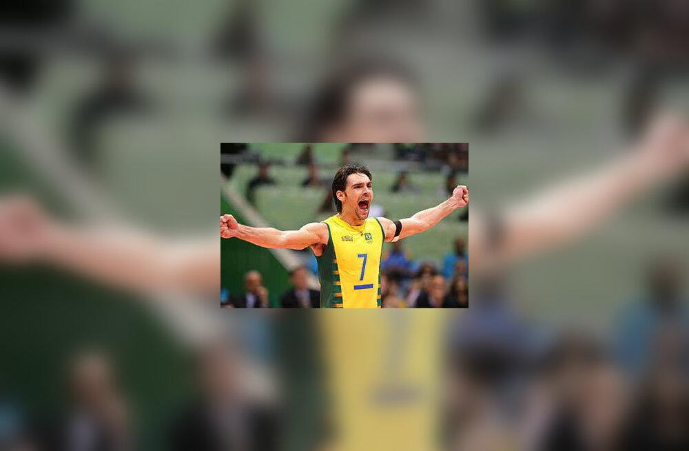 Brasiilia legend Giba