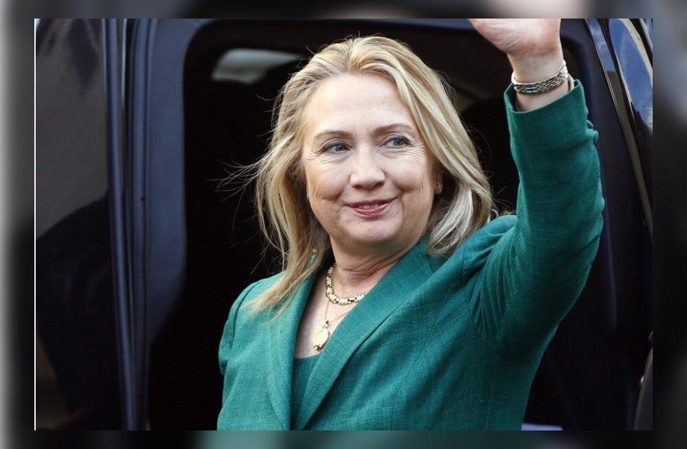 Clinton saabus Gaza relvarahu püüetega Egiptusesse