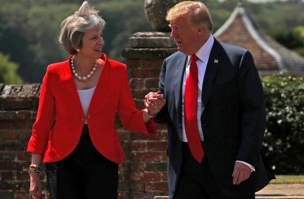 """Трамп призвал Великобританию покинуть ЕС """"без сделки"""""""