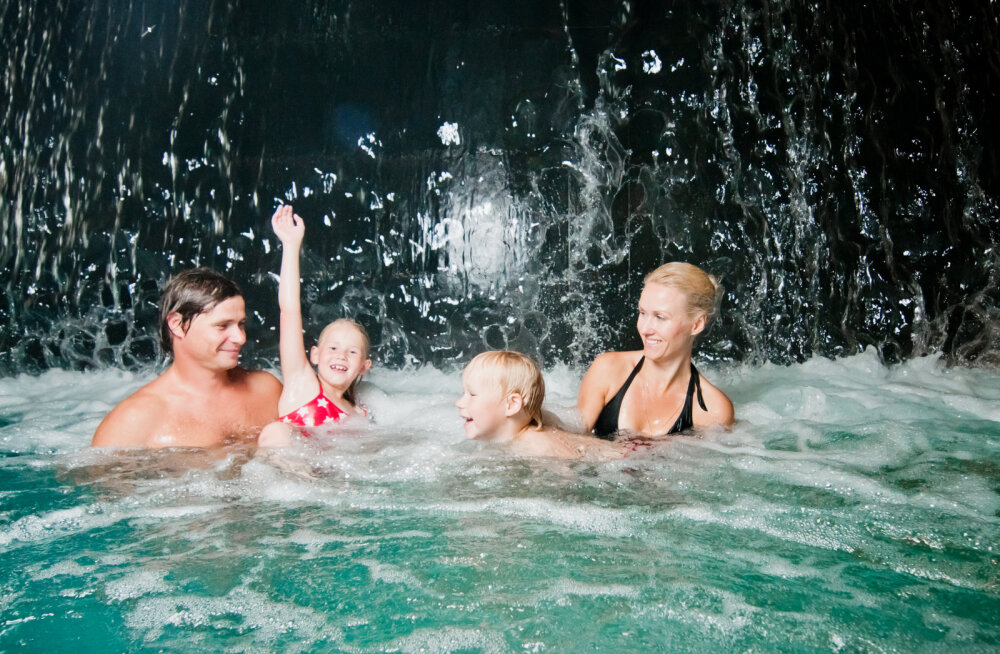 Kogupere puhkus spaas — mida pakutakse lastele?