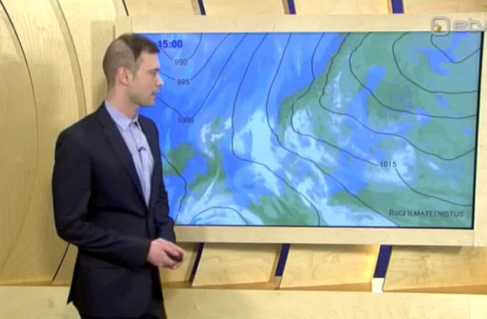 ETV ilmapoiss šokeeris televaatajaid julge soenguga: tööle minnes hoidsin hinge kinni, kas ikka lastakse eetrisse