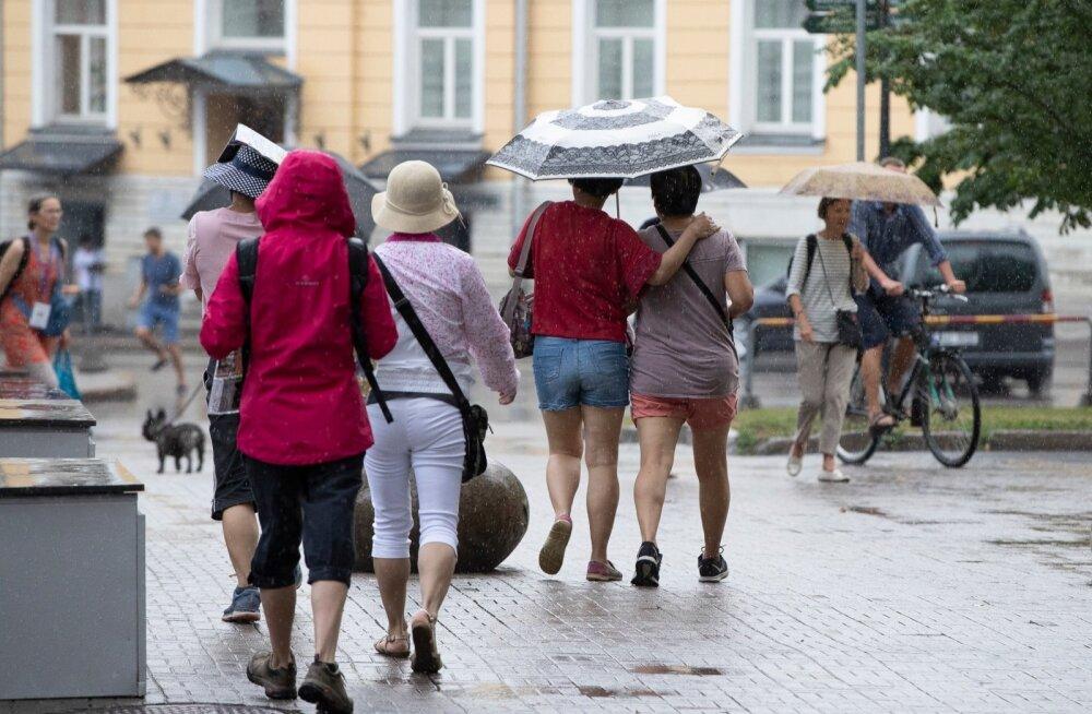 Vihmapildid linnast