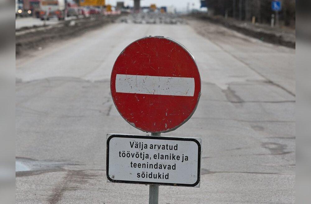 Tallinna-Saku maantee saab enne talve asfaltkatte
