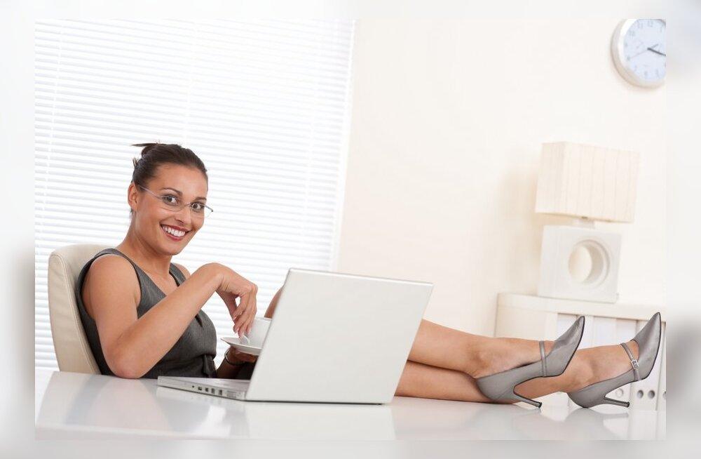 Kodu korda: viis nippi hubase ja meeleoluka kodukontori loomiseks