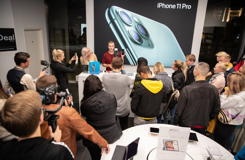 iPhone 11 Eesti esmaesitlus Solarise iDealis