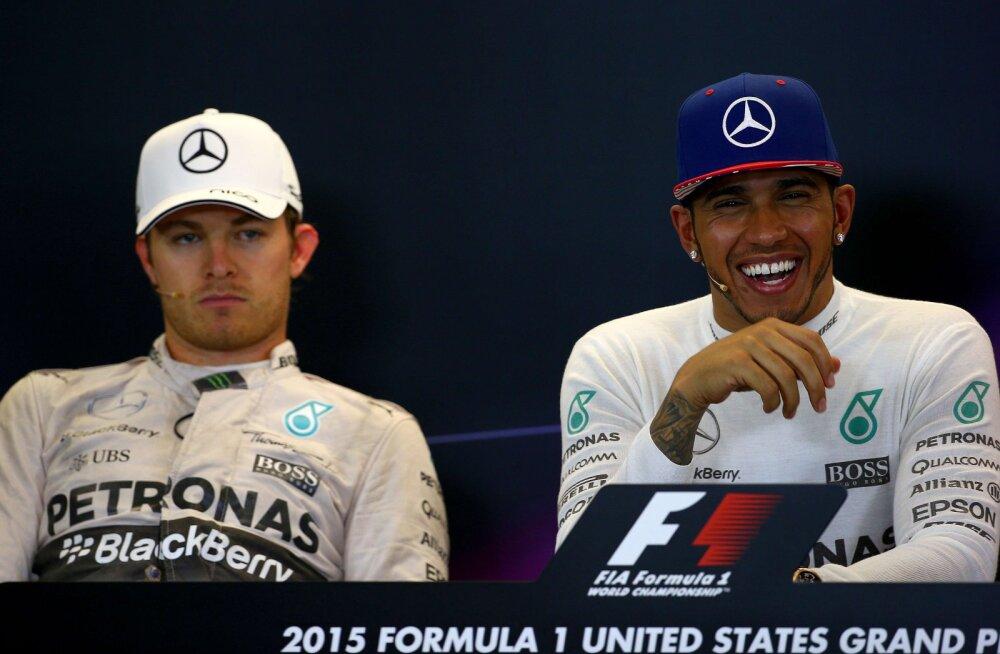 Hamilton: Rosberg vingub liiga palju