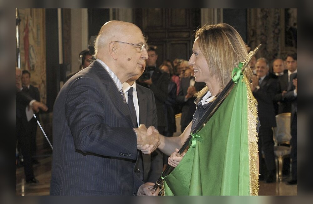 Napolitano valiti tagasi Itaalia presidendiks