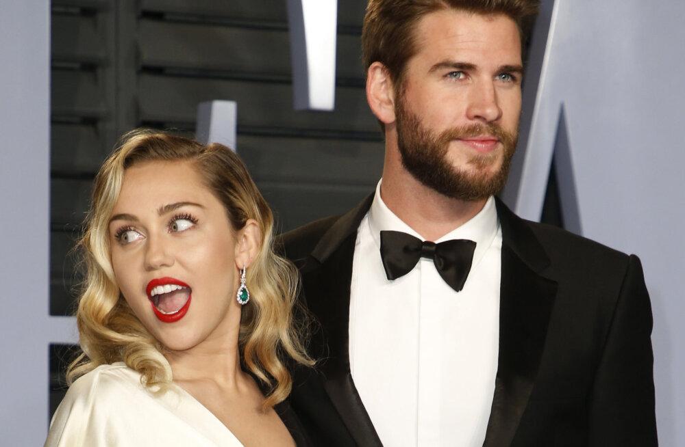 Lõpuks abielus! Miley Cyrus läks pärast kuue aasta pikkust kihlust filmitähele kosja