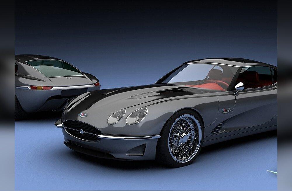Growler E ehk uus Jaguar E-Type by Visualtech 1