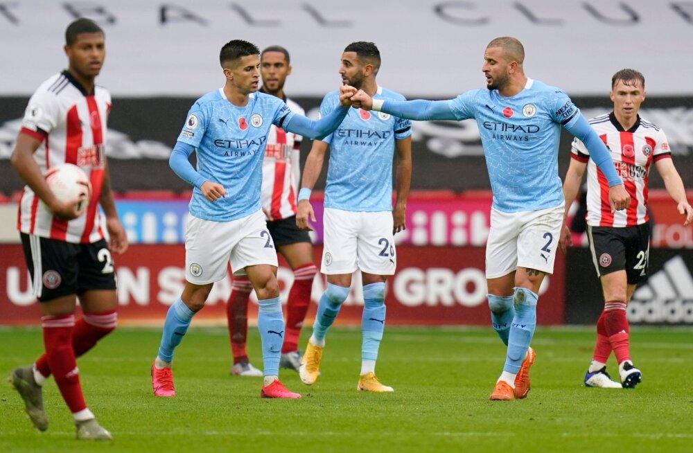 Manchester City kerkis napi võiduga esikümnesse tagasi