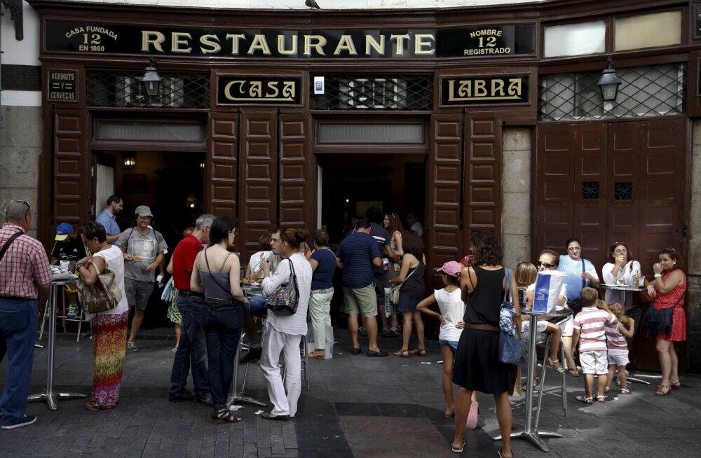 Hispaanias on kaheksa aasta kiireim majanduskasv