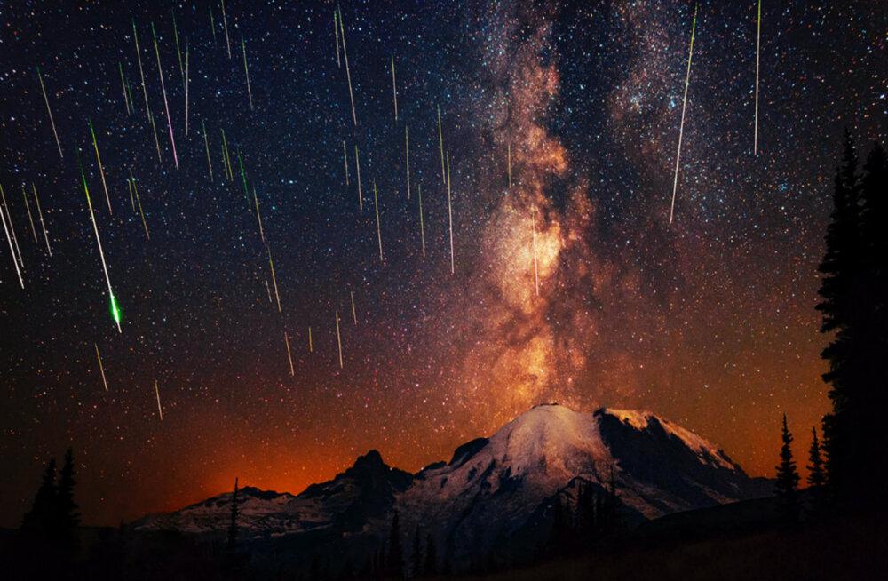 Vaatemäng öötaevas: täna öösel kihutavad üle taevalae geminiidid