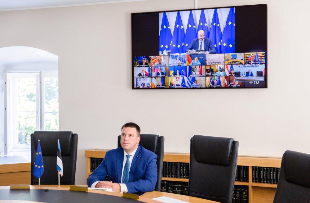 Ratas: Euroopa Liit toetab Valgevene rahva soovi valida oma tulevikutee ning ei tunnusta presidendivalimiste tulemusi